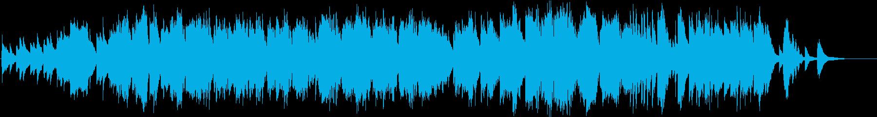 笛とピアノによるアンビエントな小曲の再生済みの波形