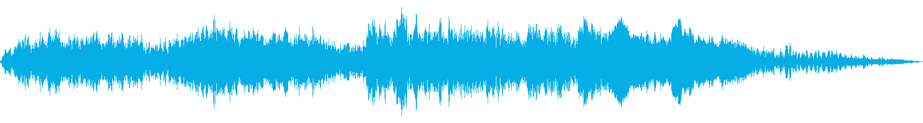 電車のブレーキの再生済みの波形