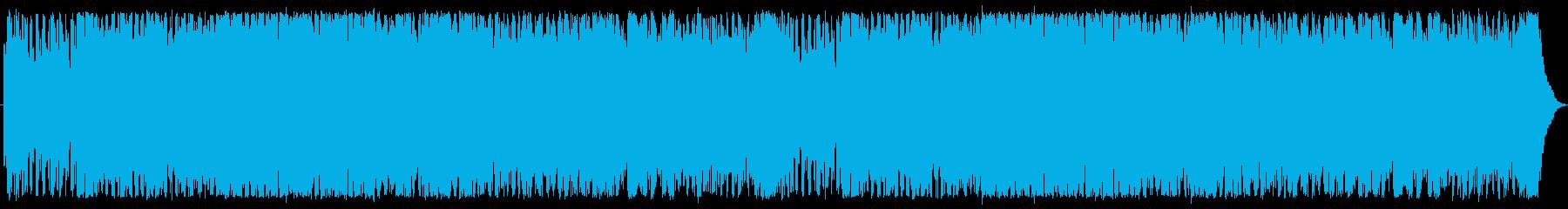 RPGの戦闘曲の再生済みの波形