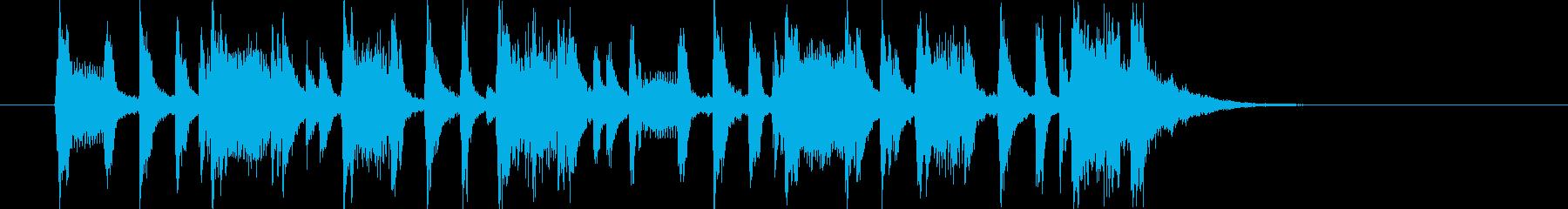 ゆったりとメローなトランペットジングルの再生済みの波形