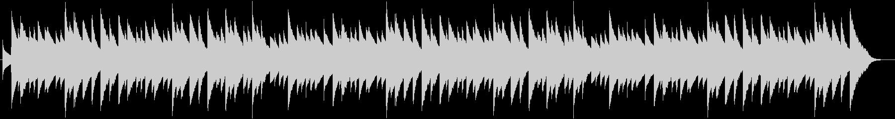 「もみの木」のオルゴールバージョンの未再生の波形
