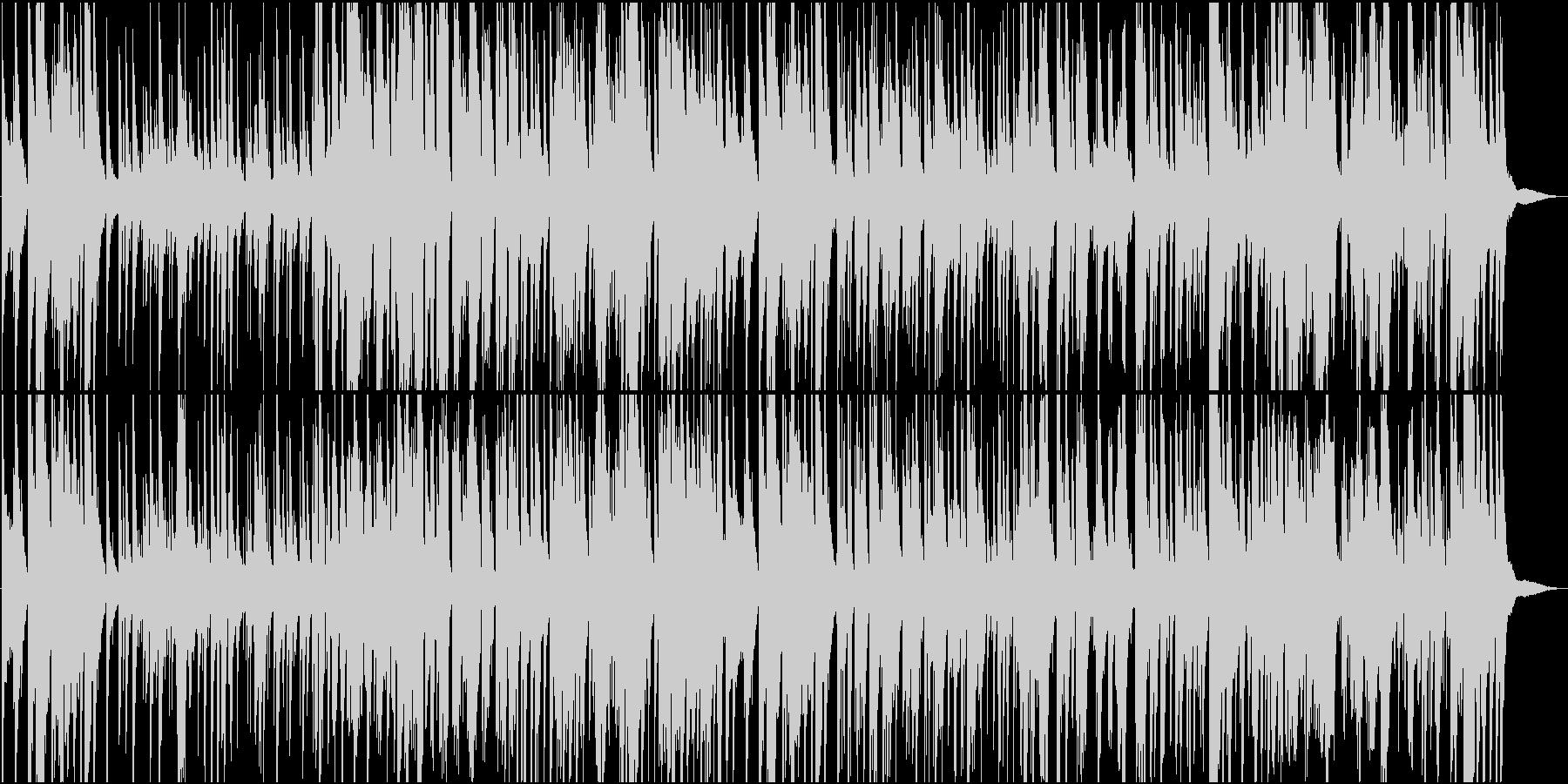 サックスとギターのゆったり夜に合うジャズの未再生の波形