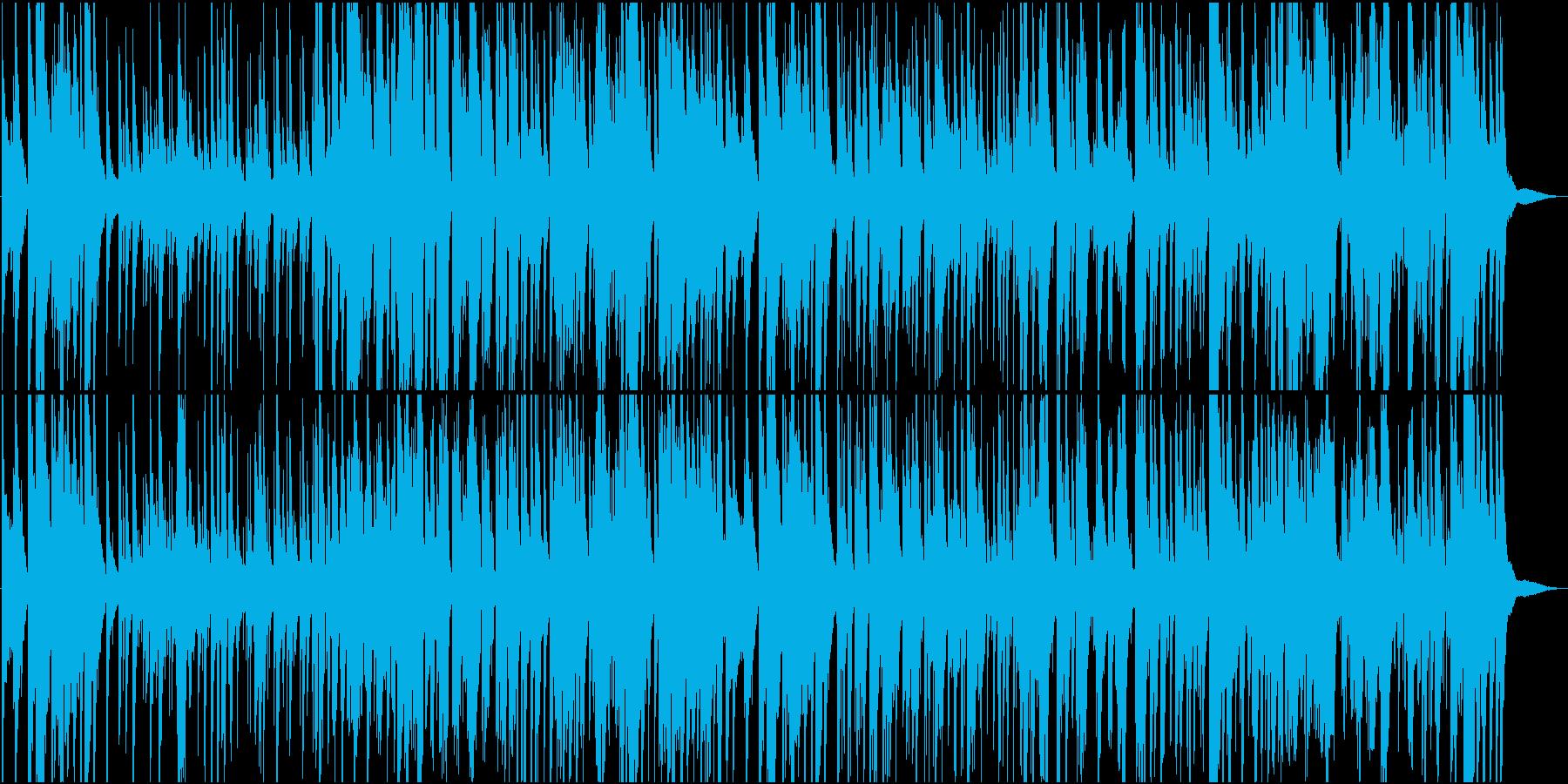 サックスとギターのゆったり夜に合うジャズの再生済みの波形