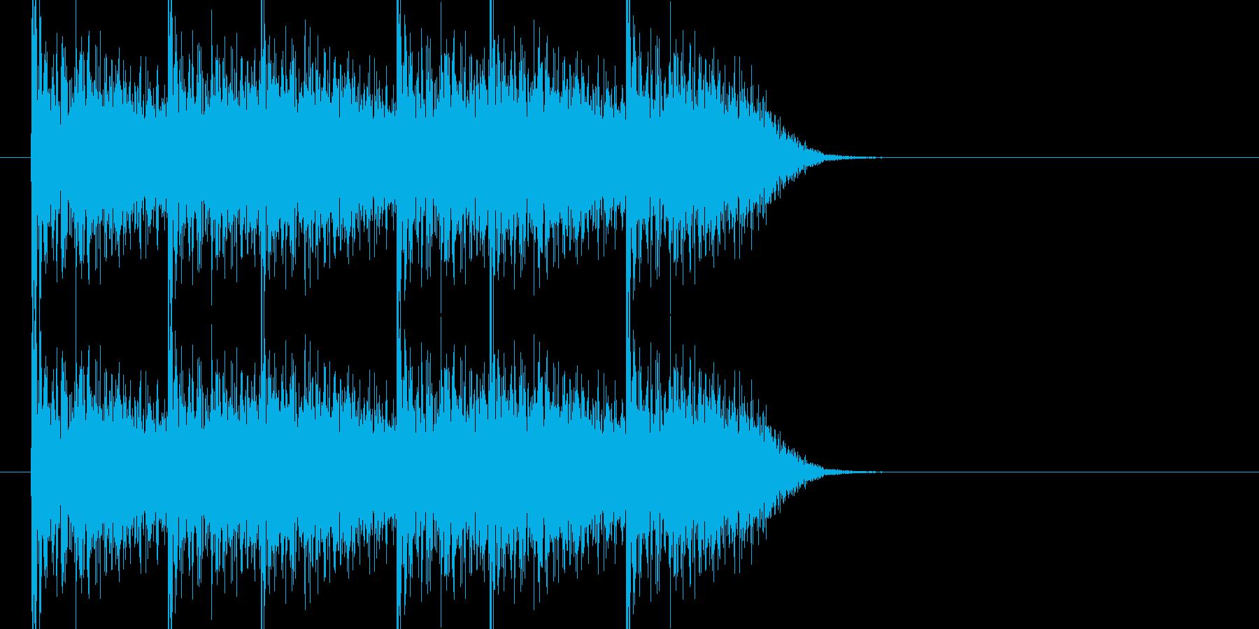 巨大生物がボコッボコッと連打する音1ですの再生済みの波形