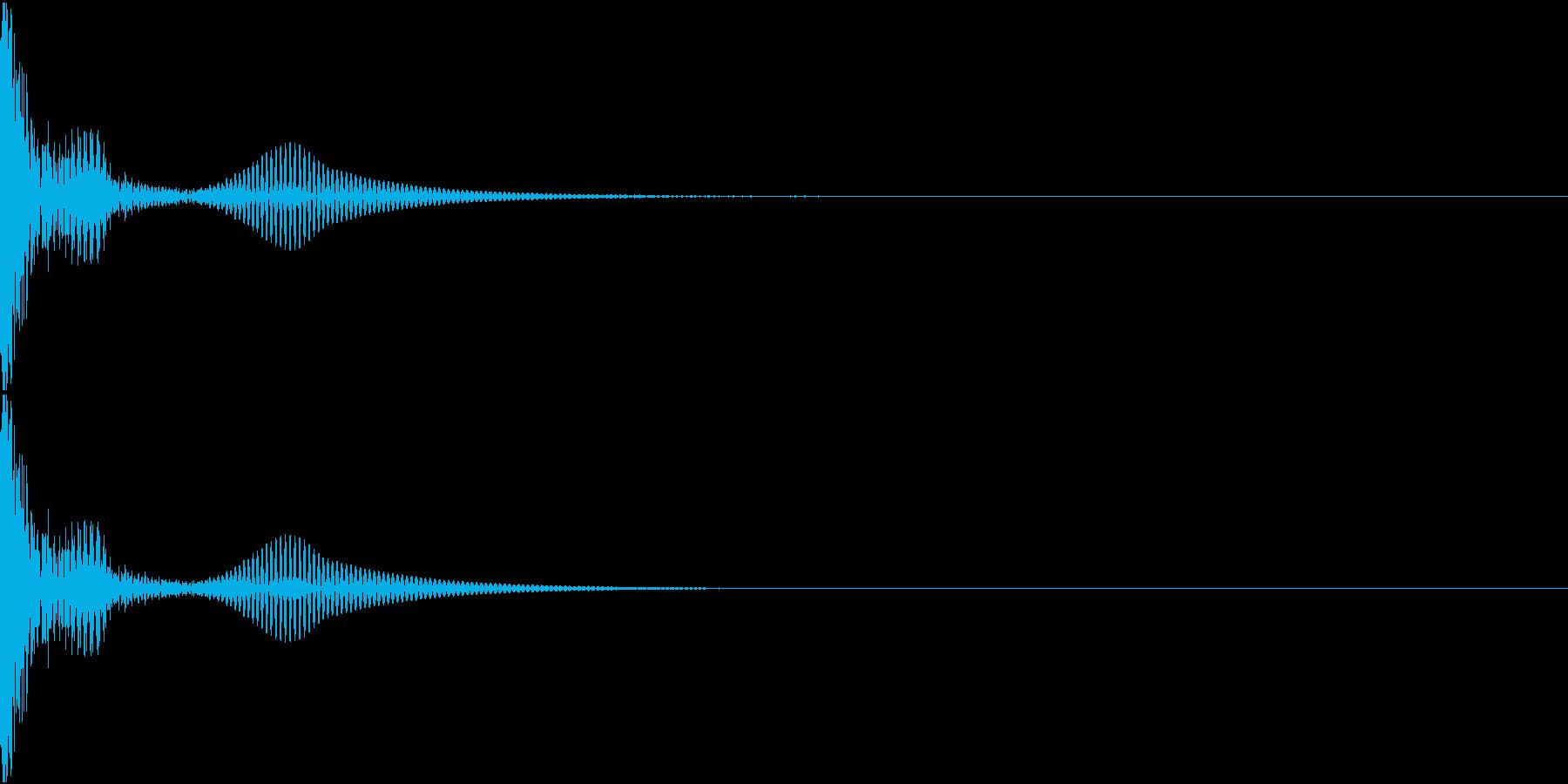 DTM PercFX 2 オリジナル音源の再生済みの波形