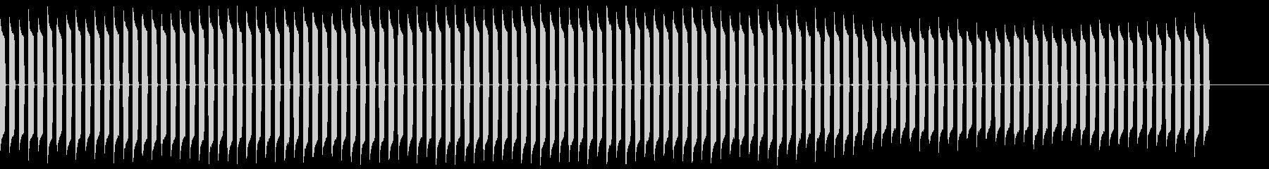 ピピピピピピピピ!(電子音、機械音)の未再生の波形