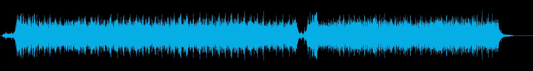 おもちゃのロボットの動作音の再生済みの波形