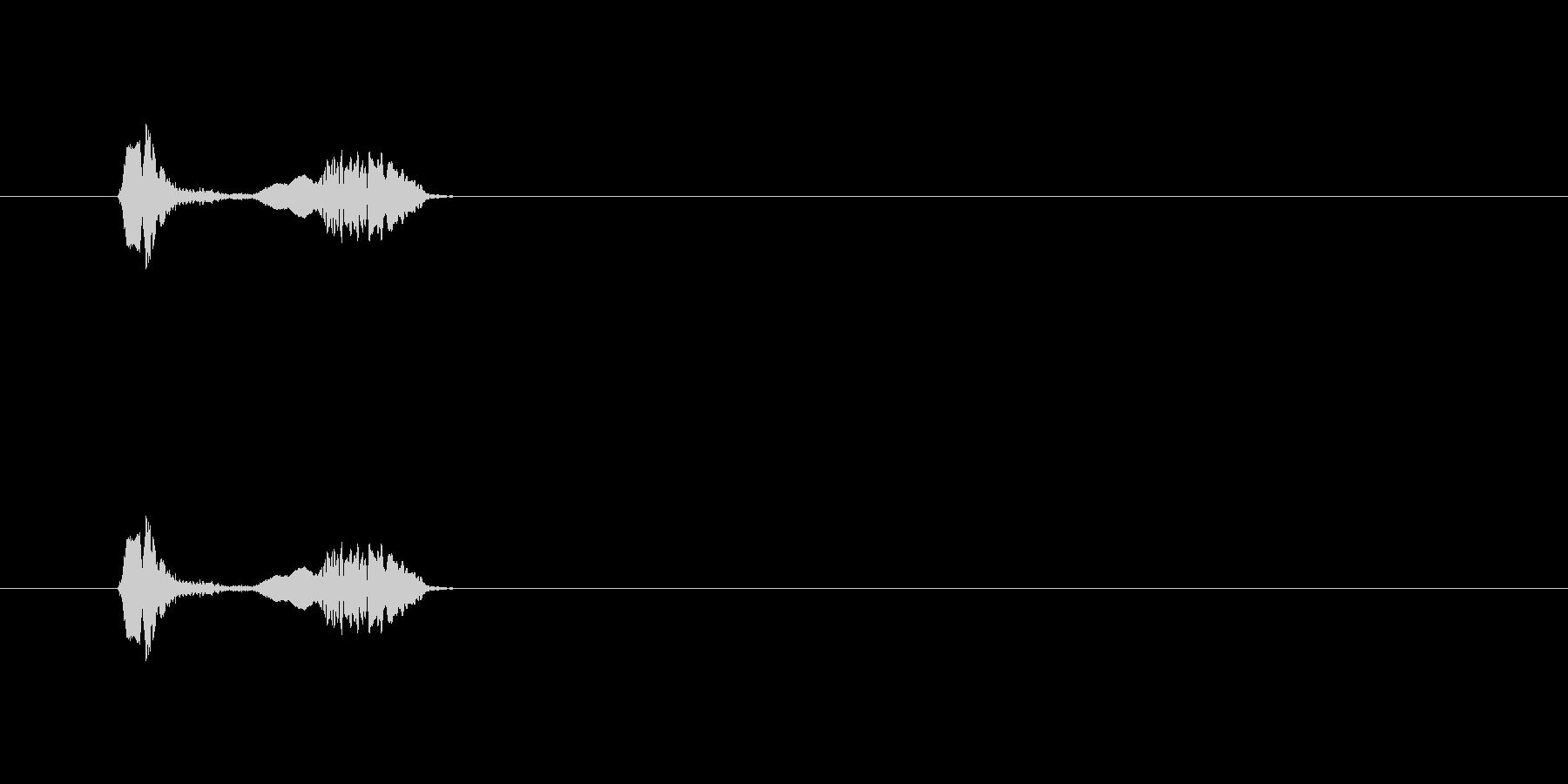 【ポップモーション29-2】の未再生の波形