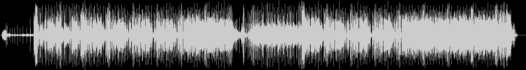 奇妙で不思議な緩やかビートサウンドの未再生の波形