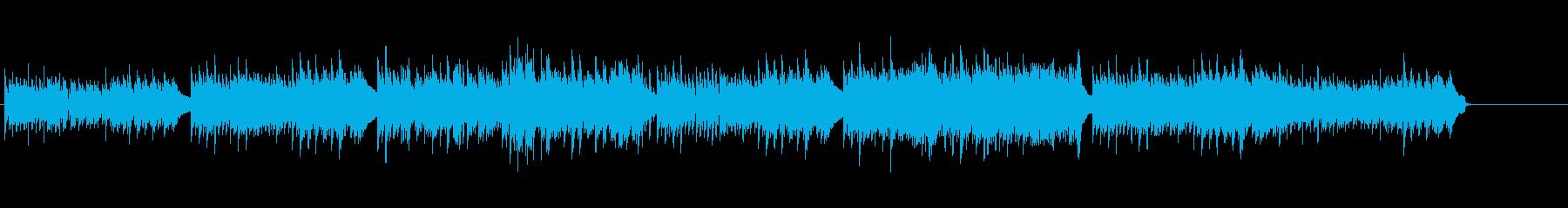 華麗でクラシカルなピアノメロディーの再生済みの波形
