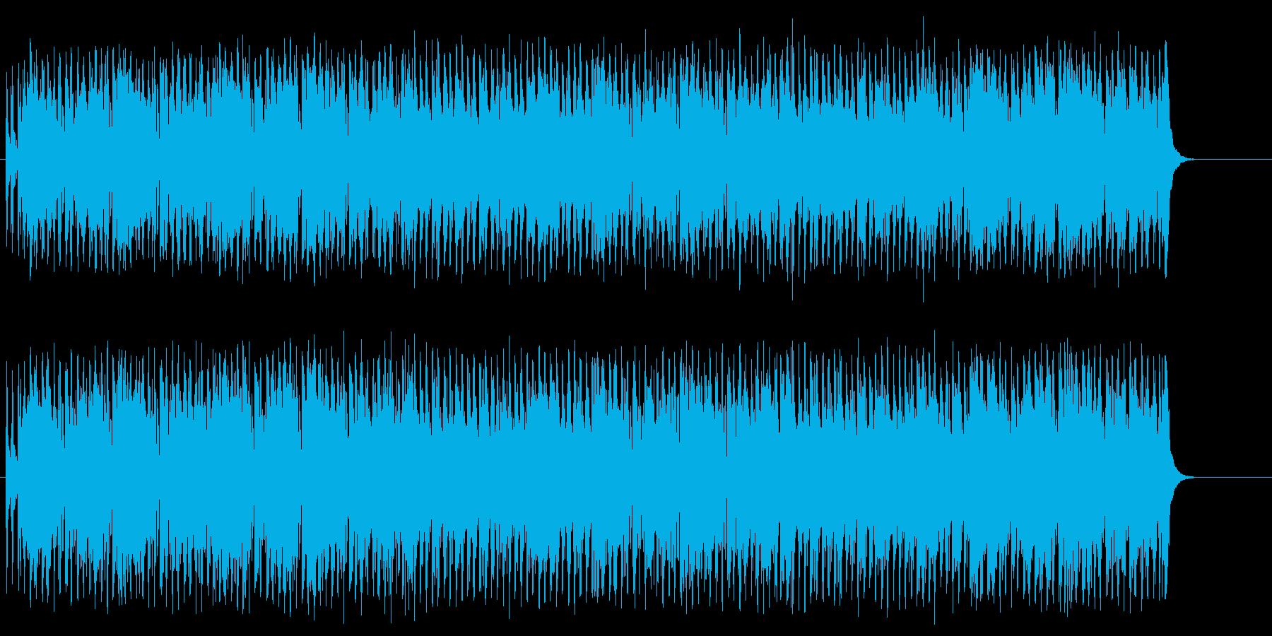 ワクワクするお子様向けポップ/コミカルの再生済みの波形