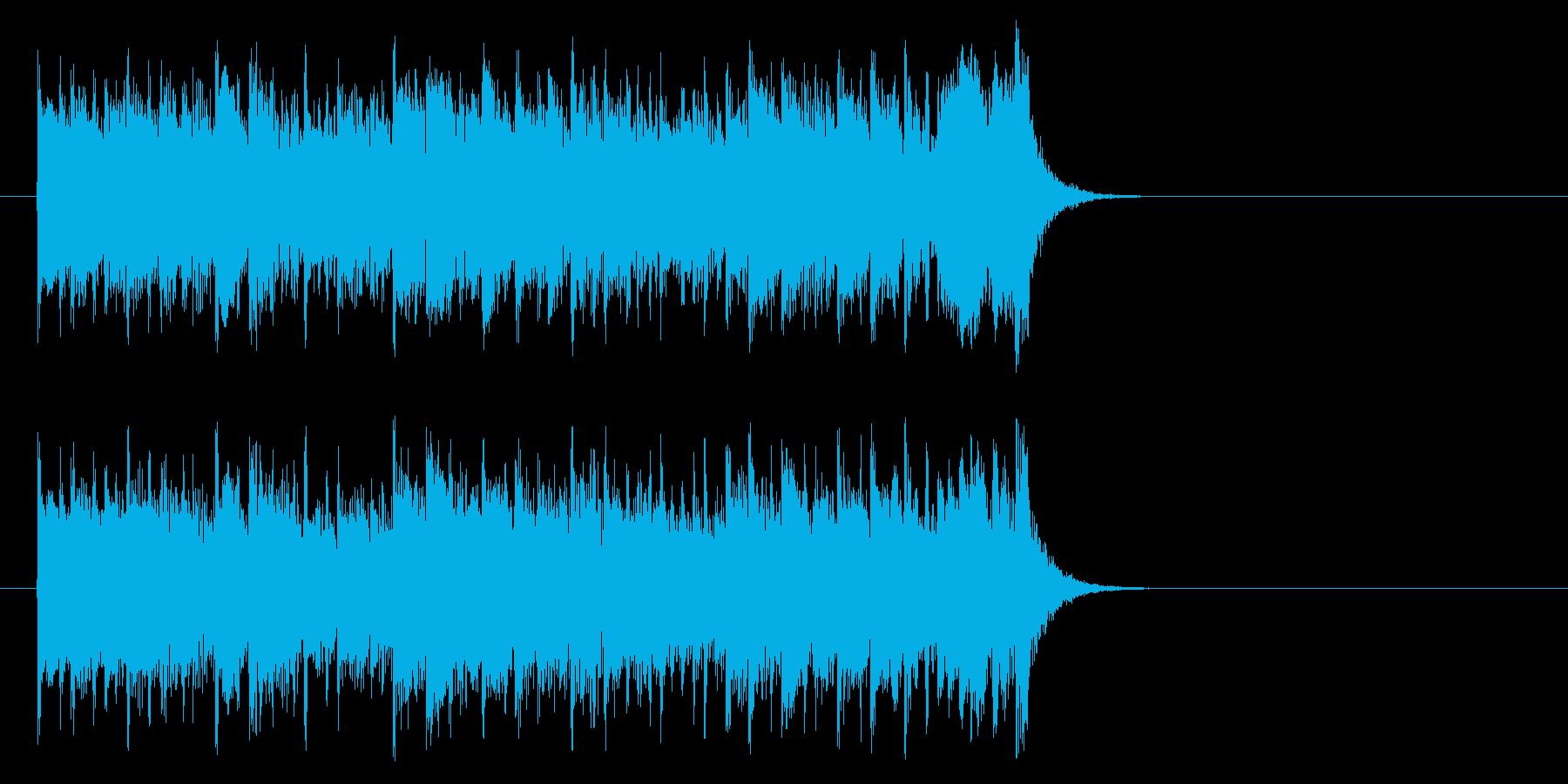 前進する力強いポップ(Aメロ)の再生済みの波形