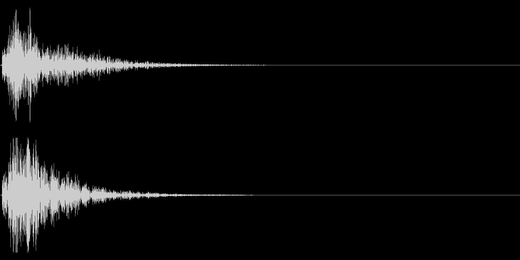 ドドン!大太鼓の迫力あるフレーズ音 13の未再生の波形