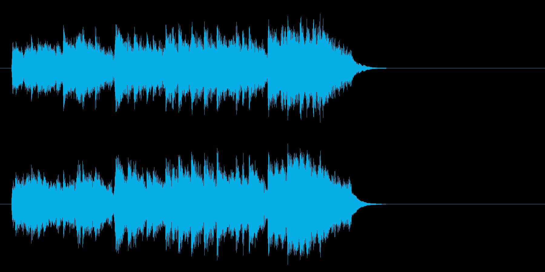 滑らかなピアノのバラード(イントロ)の再生済みの波形