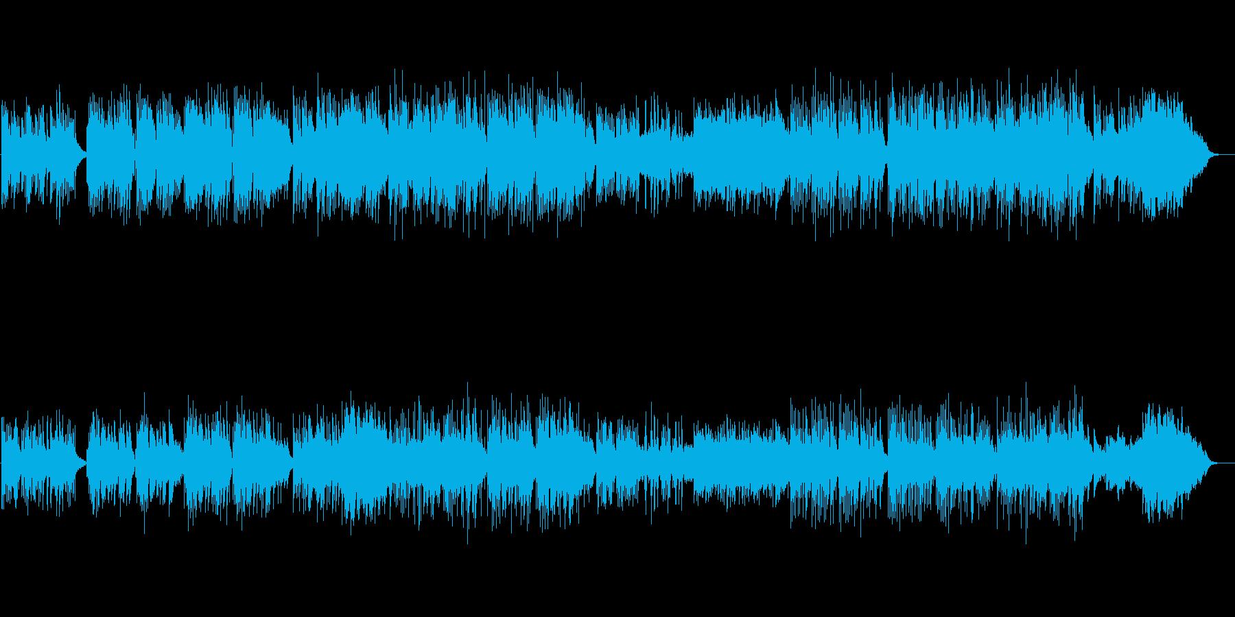 イージーリスニング:ピアノ・ギターの再生済みの波形