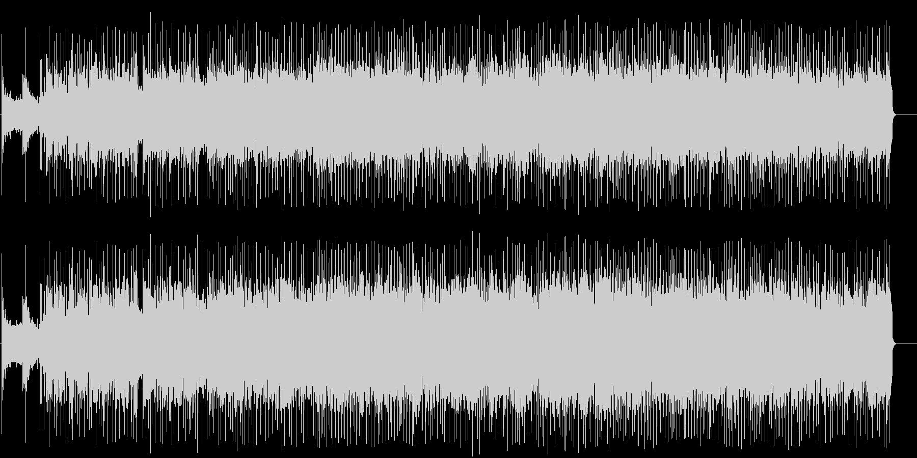男のタフなアメリカン・ブルース/ロックの未再生の波形