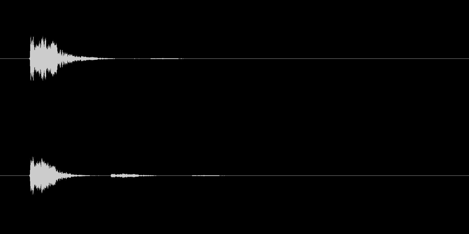 【SE 効果音】SF的な音15の未再生の波形