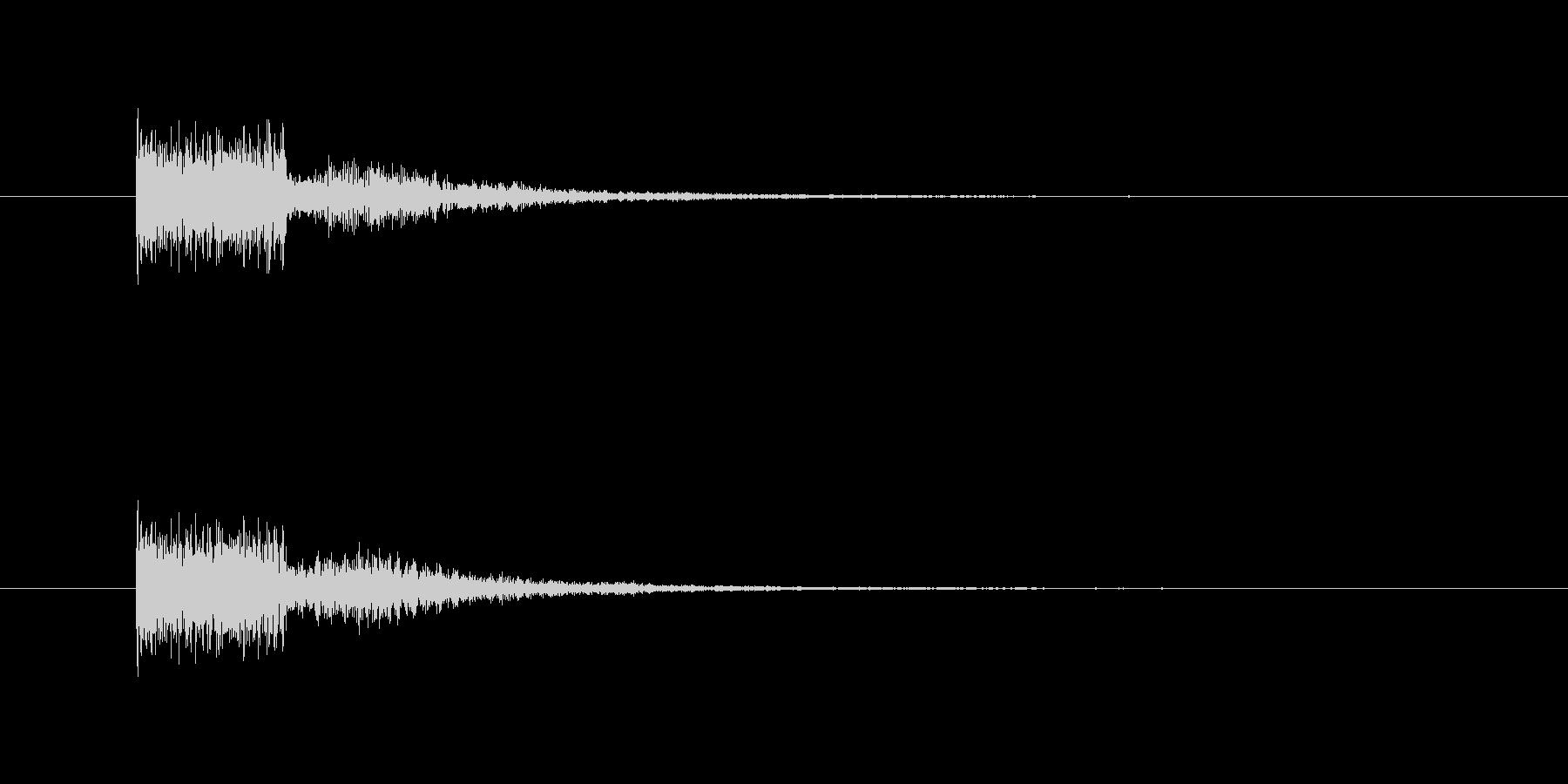 電動砥石の未再生の波形