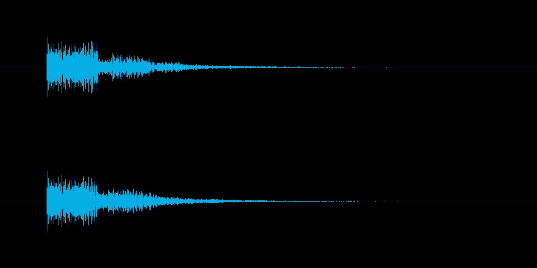 電動砥石の再生済みの波形