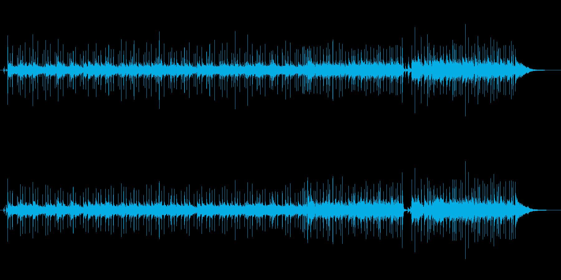 マイナー調ミディアム・バラードの再生済みの波形