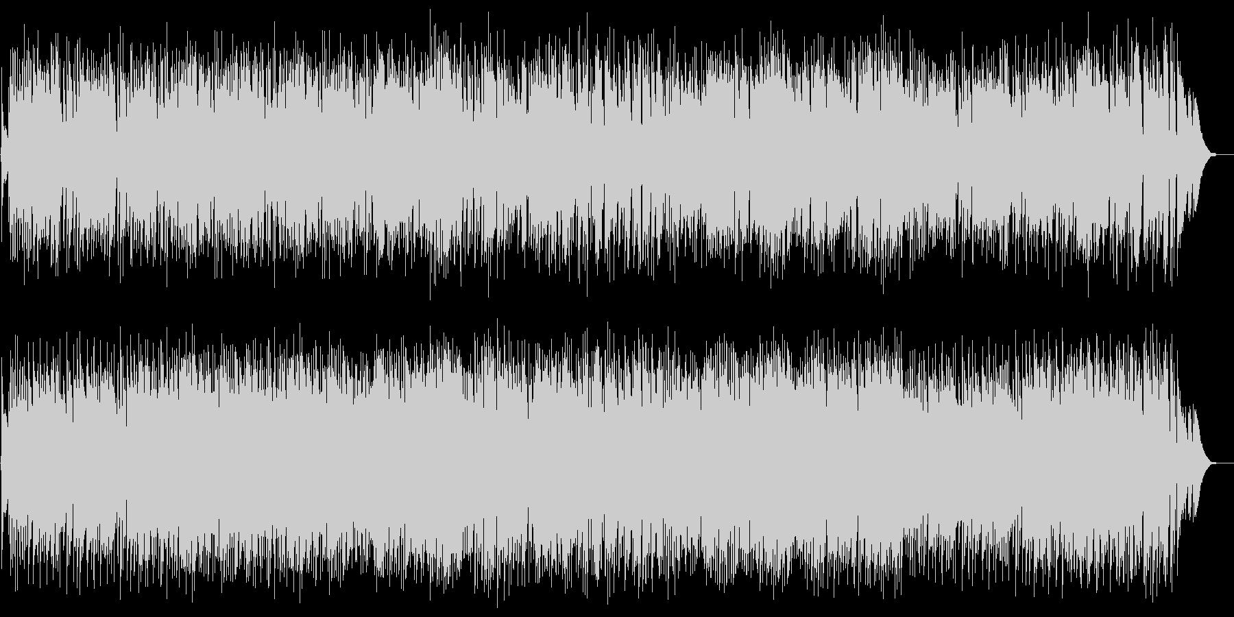小犬のワルツ(F.ショパン)Jazzの未再生の波形