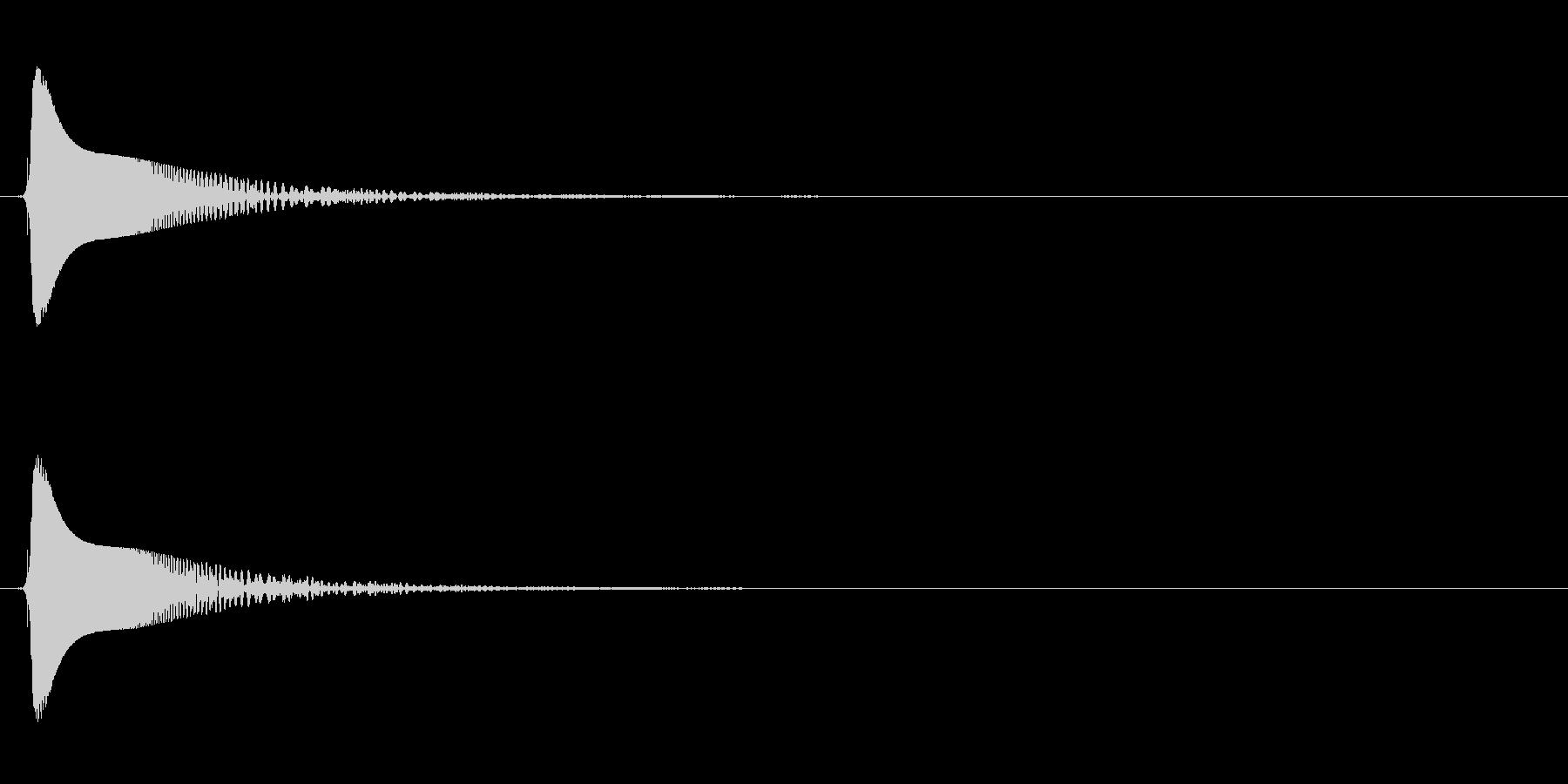 プチュンの未再生の波形