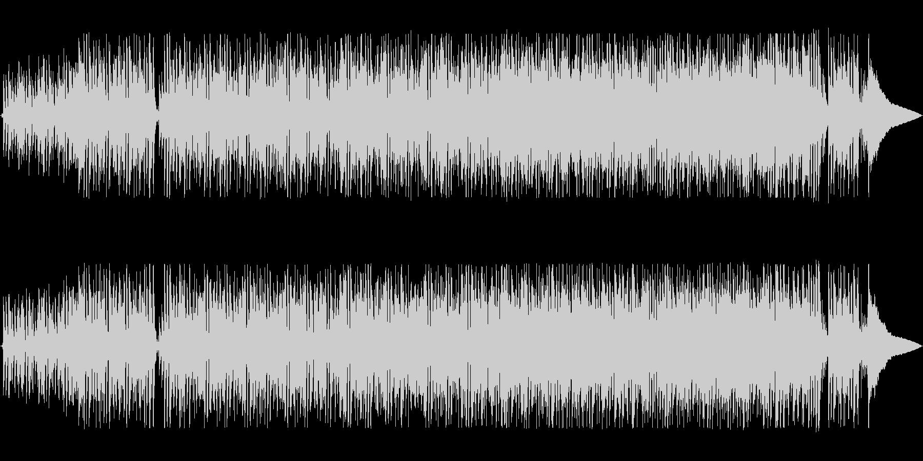 軽快でリズミカルなシンセポップサウンドの未再生の波形