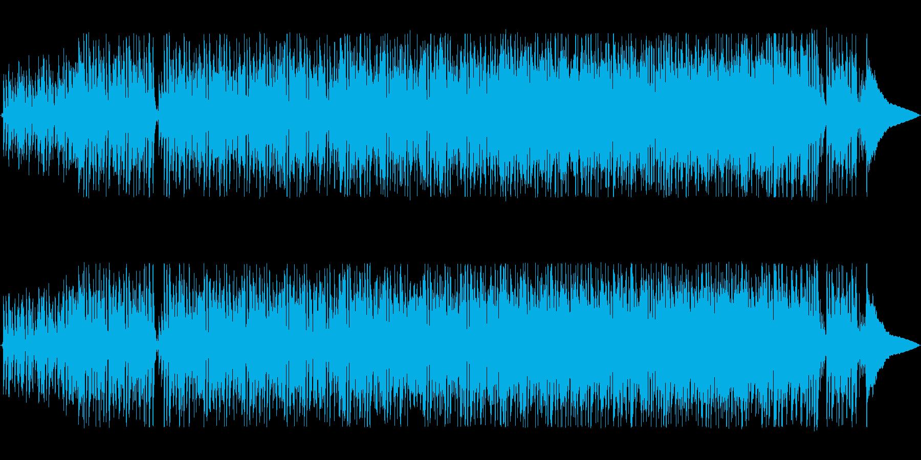 軽快でリズミカルなシンセポップサウンドの再生済みの波形