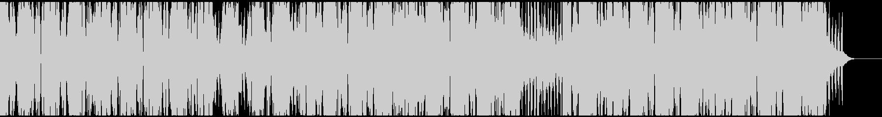 優しく流麗なエレピとシンセのヒップホップの未再生の波形
