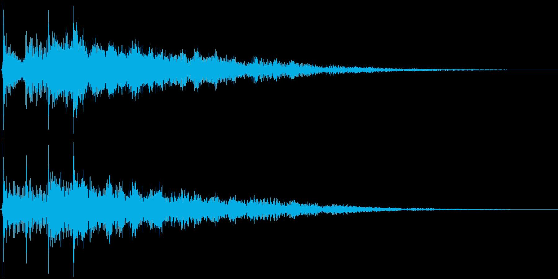 サウンドロゴ想定クールなエレキギター2の再生済みの波形