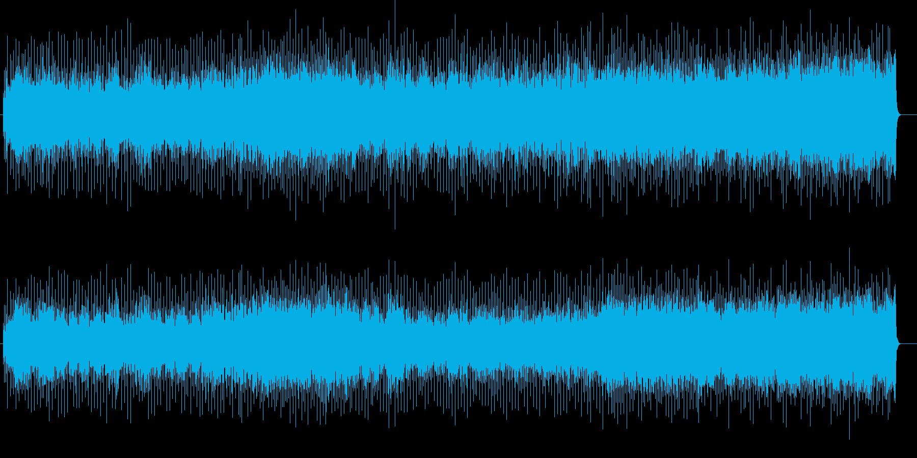 アップ・テンポな歌謡ポップ・ロックの再生済みの波形