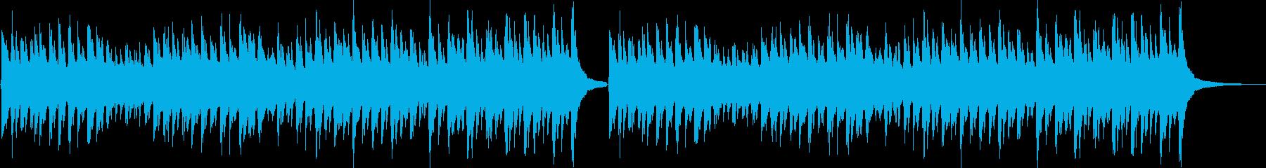 子供向けのコミカルなジングル(ロング)の再生済みの波形