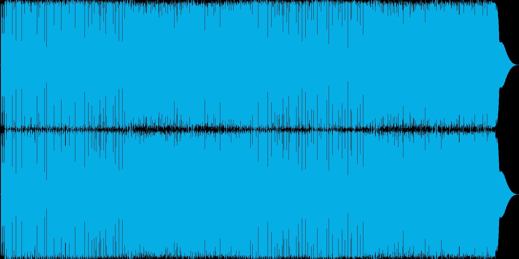 ロボットがダンスするエレクトロの再生済みの波形