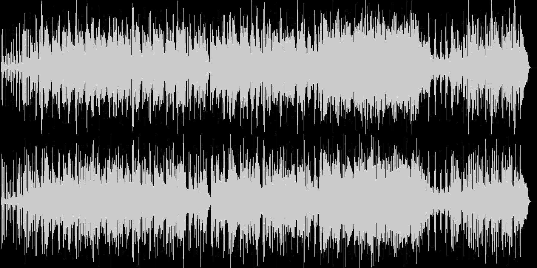 壮大で明るいシンセサイザーサウンドの未再生の波形