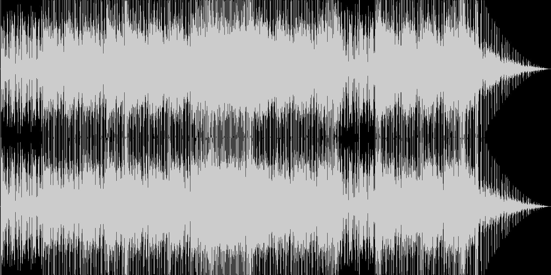 ルーズな雰囲気のロックの未再生の波形