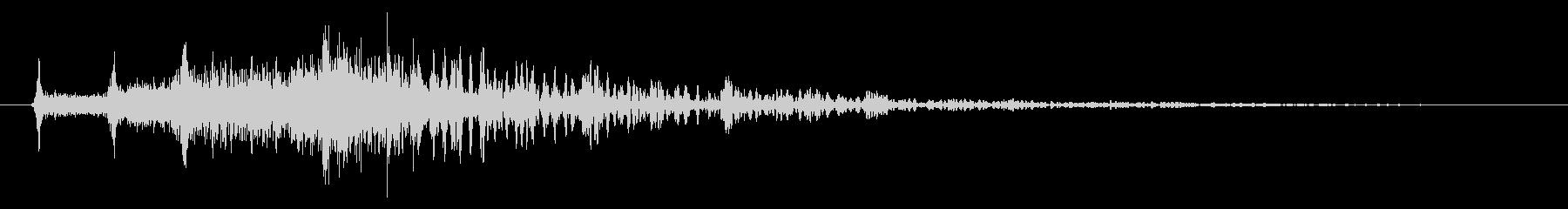 メニュー画面音(ウインドウ,決定等)18の未再生の波形