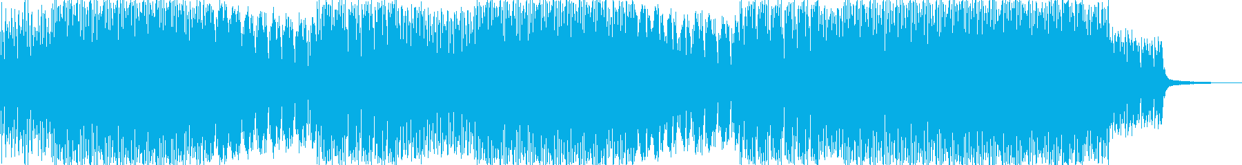 月の光に導かれてみたいな曲(テクノ系)の再生済みの波形