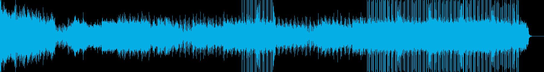 和をイメージしたストリングスバラードの再生済みの波形
