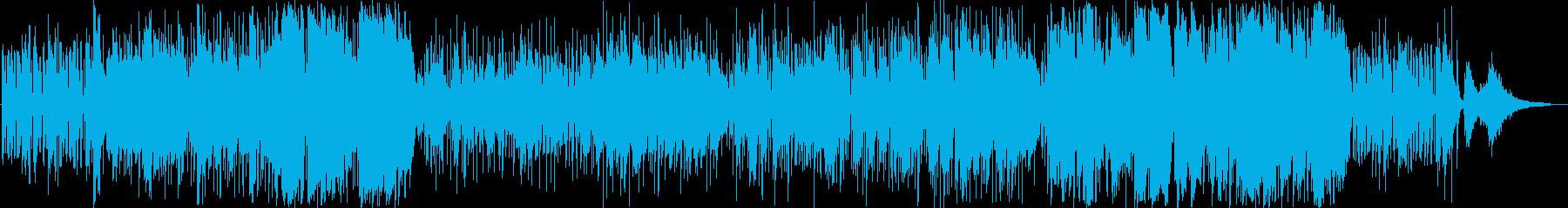 夏の海・ビーチリゾートのオシャレなジャズの再生済みの波形