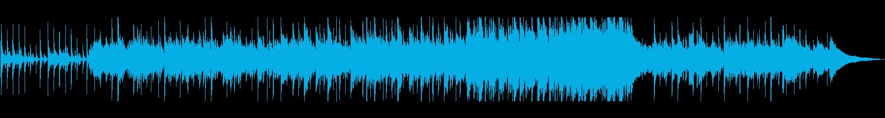 哀愁漂う悲しいケルト音楽の再生済みの波形