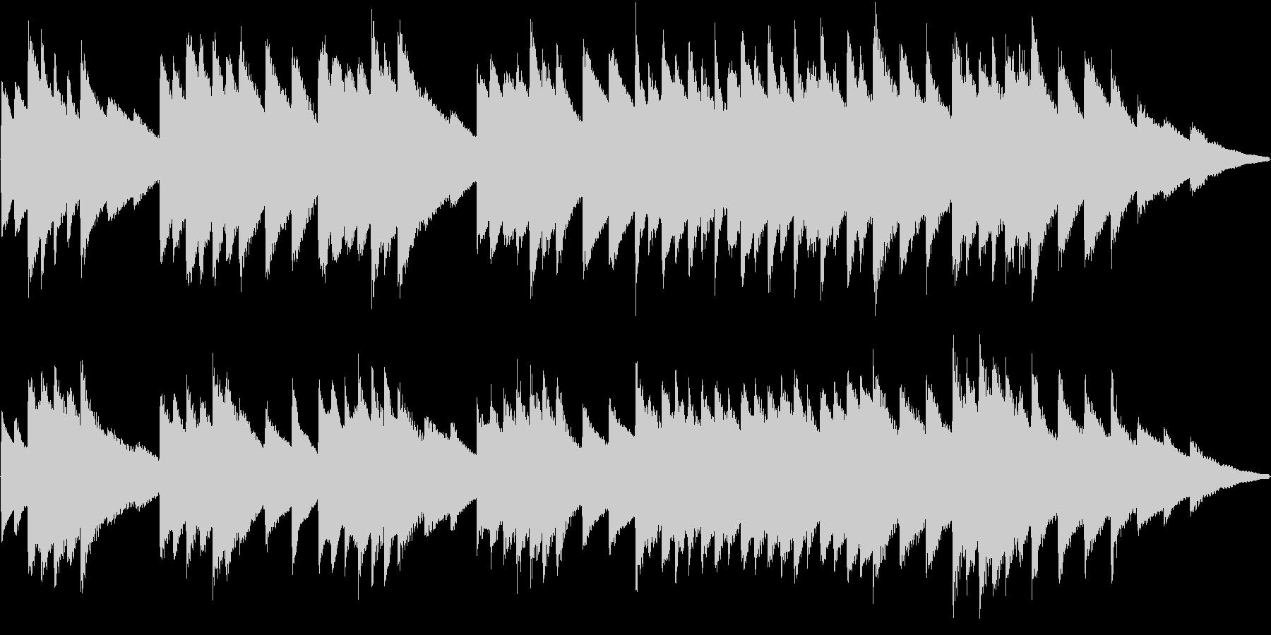 オルゴール曲で、中毒性のある曲です。の未再生の波形