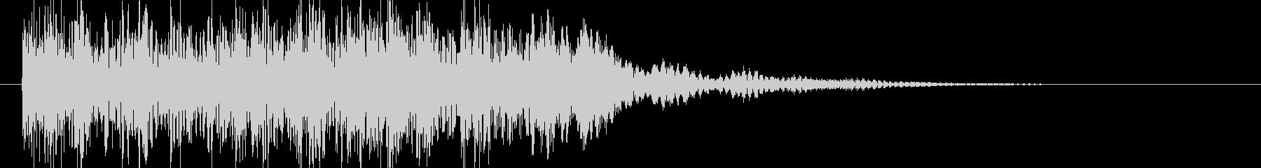 和太鼓の未再生の波形