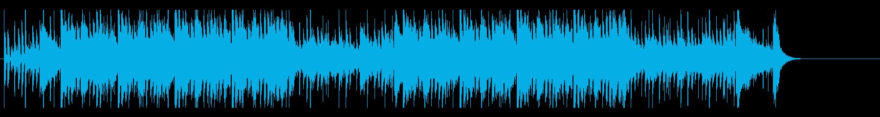 あやしい ふあん 緊張 サスペンス 追跡の再生済みの波形