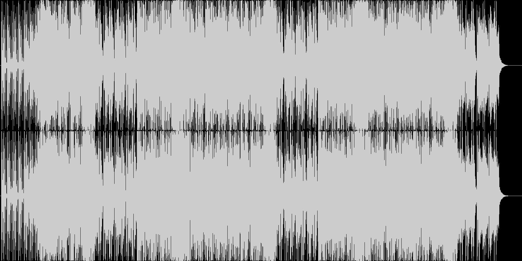 ストリングスのリフが印象的な明るいEDMの未再生の波形