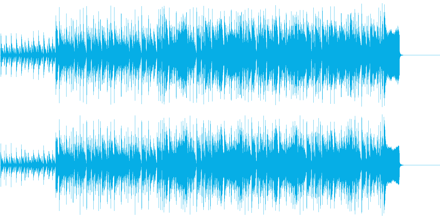 CM 明るい わくわく 楽しい いきいきの再生済みの波形