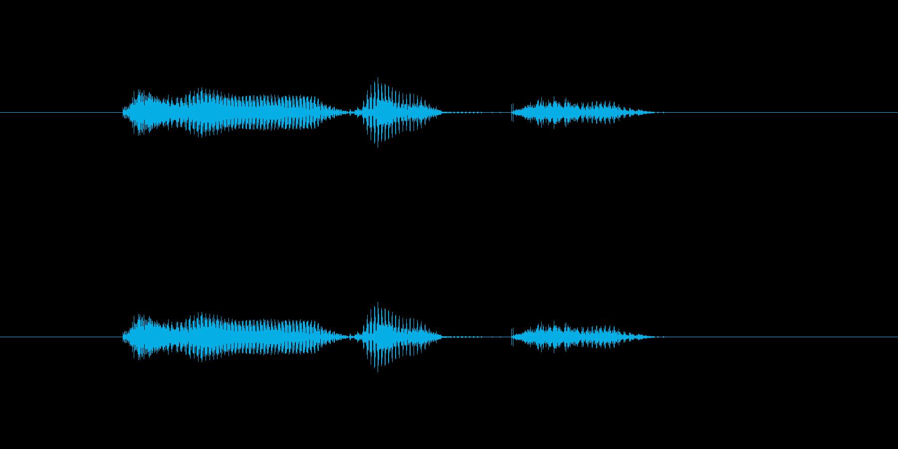 【月】10月の再生済みの波形