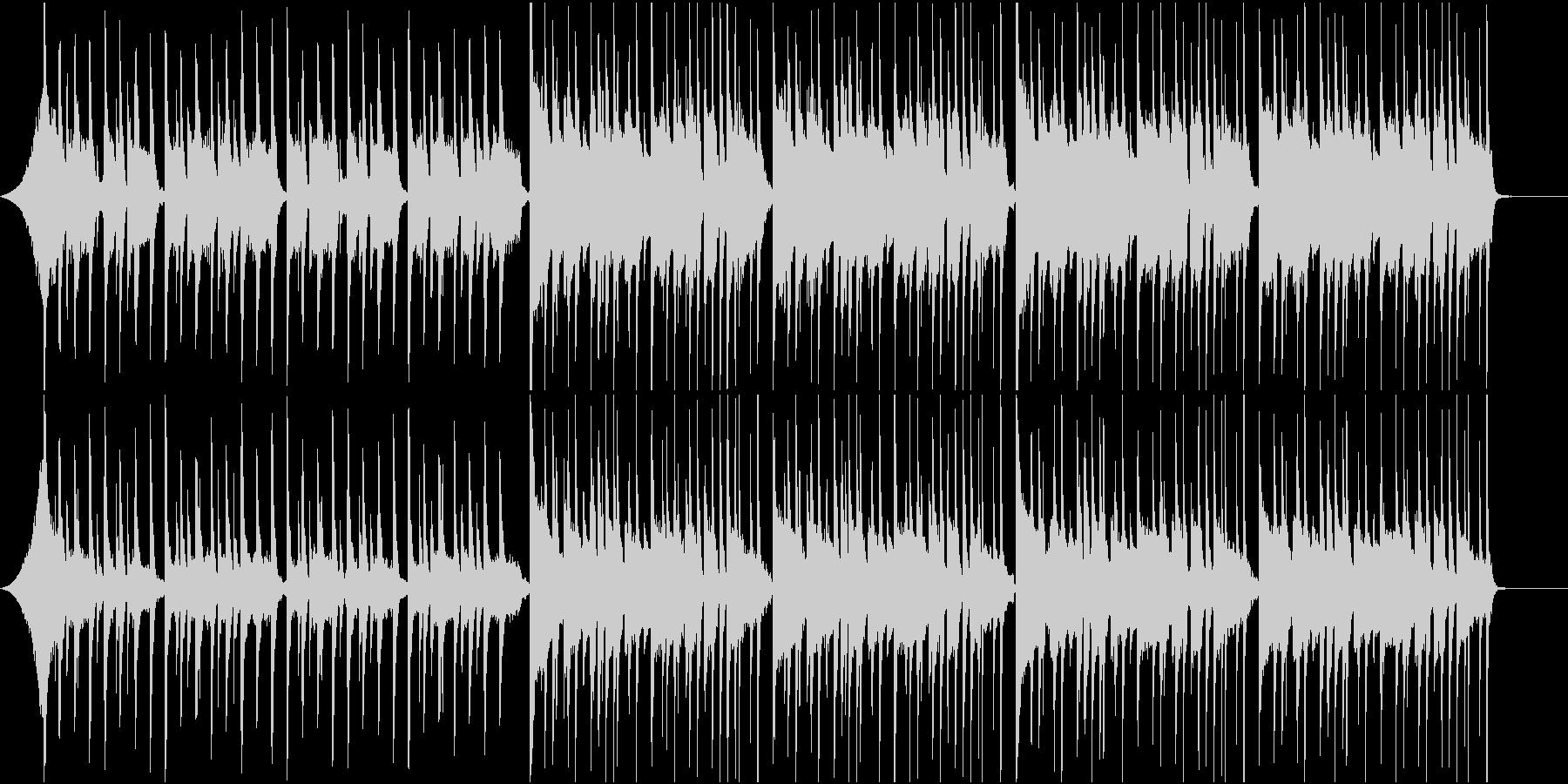 爽やかなエレクトロニカの未再生の波形