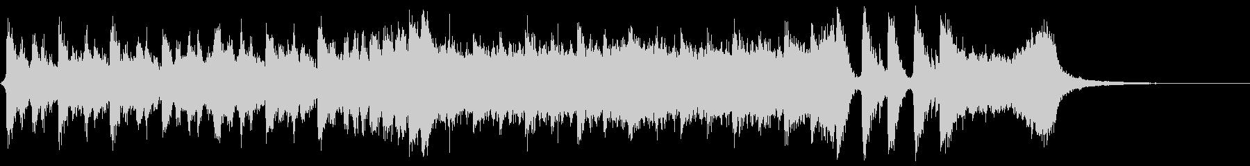 ハリウッド系アイキャッチ02の未再生の波形