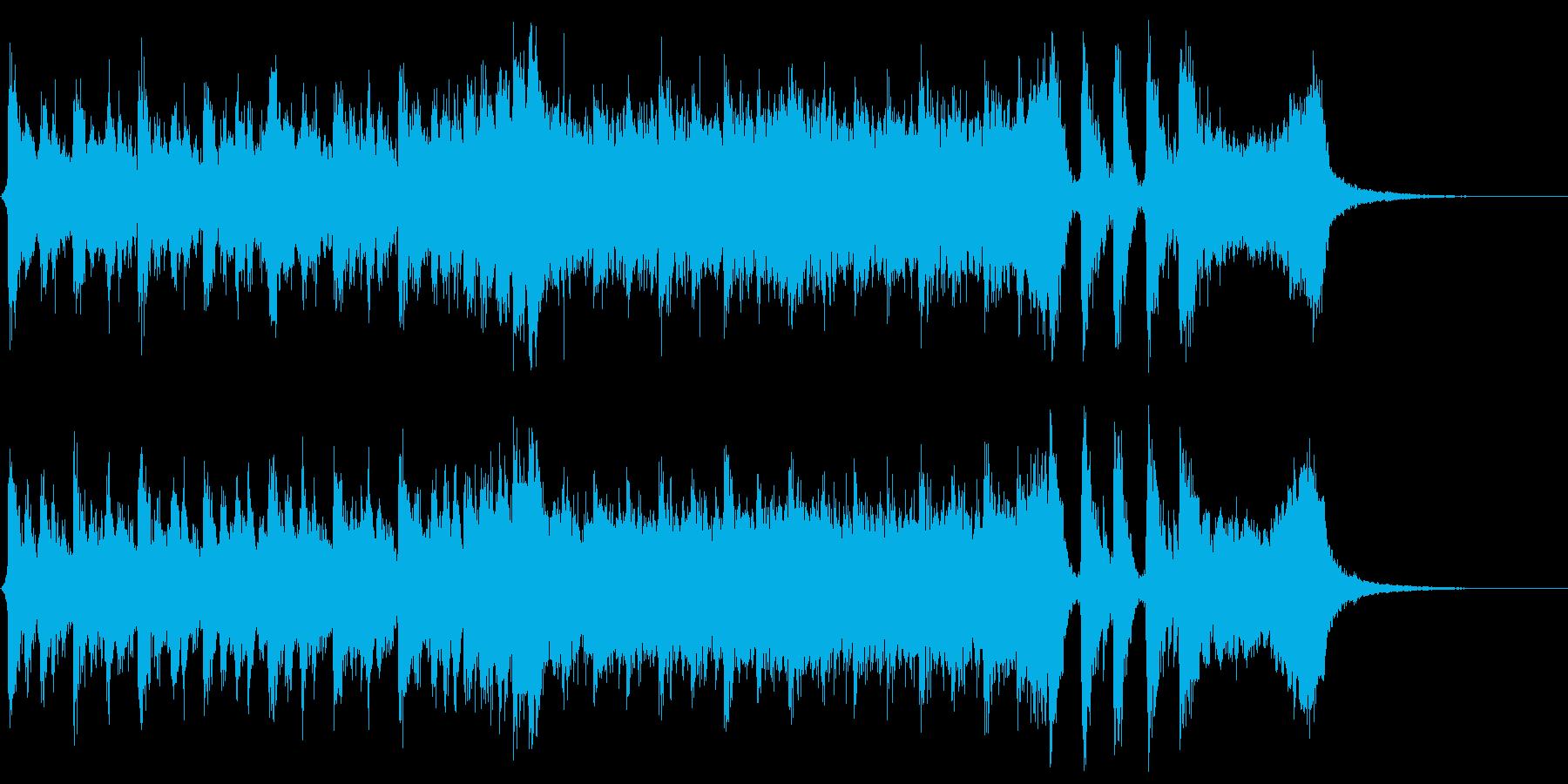 ハリウッド系アイキャッチ02の再生済みの波形