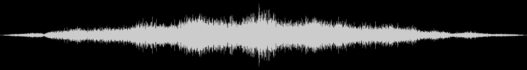 ゴシゴシ(たわしやモップで掃除する音)1の未再生の波形